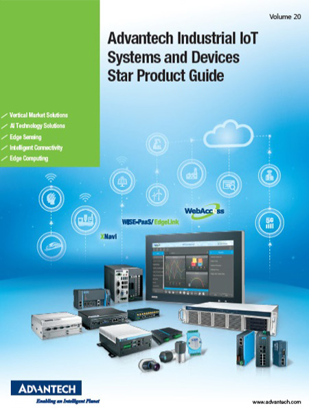 Advantech Industrial IoT Systems and Devices Star Product Guide
