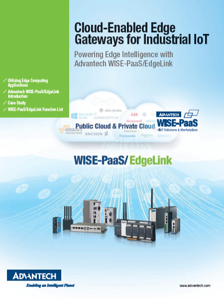 Cloud Enabled Edge Gateways for Industrial IoT