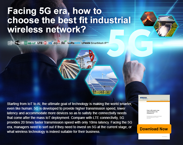 Do You Need 5G for Industrial Wireless Network